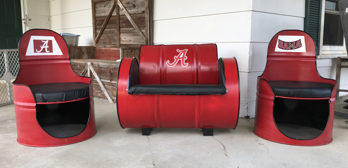 Exceptionnel 55 Gallon Alabama Seat